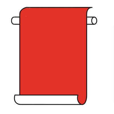 Red wall hanging