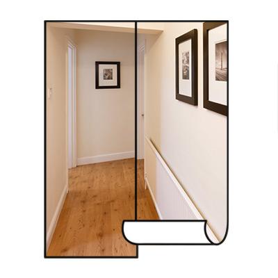 Hallway wallpaper